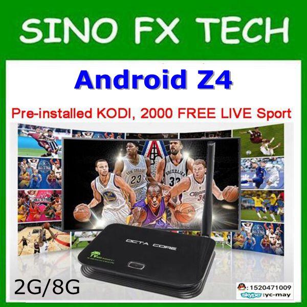 freeship 2016 christmas gift Original Rockchip 3368 Quad-Core Z4 tv box Android 5.1 4K Smart TV Box 2GB+16GB Flash Bluetooth 4 original tnpa5082ap plasma tv z board