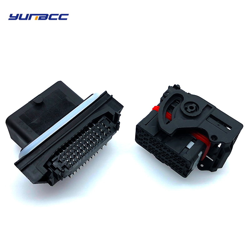 1set 48 pin molex male female ecu connector sets 0366380002 plastic automotive plug socket 0643201311 in Connectors from Lights Lighting