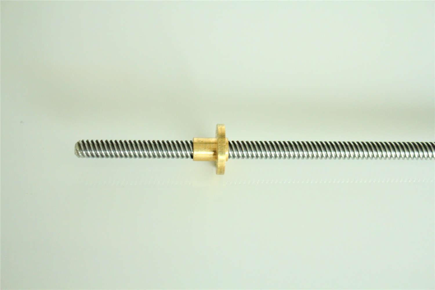 T8 Lead Screw OD 8mm Pitch 2mm Lead 4mm 100 150 200 300 350 400 500 600 1000 1200 Mm With Brass Nut For CNC 3D Printer