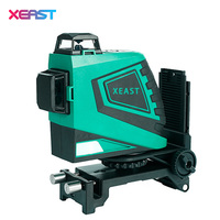 XEAS Professional 3D 12Lines Green Laser Levels Self Leveling 360 Horizontal And Vertical Cross Green Laser