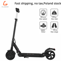 [Польша stock] без налога KUGOO S1 электрический скутер для взрослых 350 Вт складной гексакоптер 3 Скорость режимов 8 дюймов IP54 30 км 3 6day