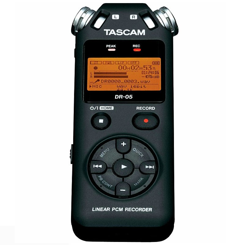 Original Tascam dr 05 Handheld Professional Portable Digital Voice Recorder MP3 Recording Pen Version 2 with