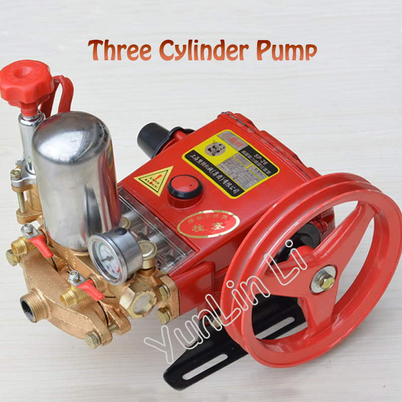 High Pressure Three Cylinders Pump Plunger Pump For Pesticide Spraying Machine Type 26 With English ManualHigh Pressure Three Cylinders Pump Plunger Pump For Pesticide Spraying Machine Type 26 With English Manual