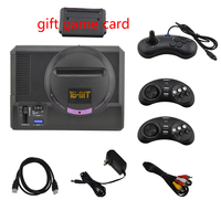 xunbeifang 16Bit 4K HD Output Dual System Video Game Console Support SEGA MD2 Game Card with free game card