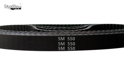 free HTD5M belt 550-5M-20 Teeth 110 Length 550mm Width 20mm 5M timing rubber closed-loop 550 HTD S5M Belt Pulley