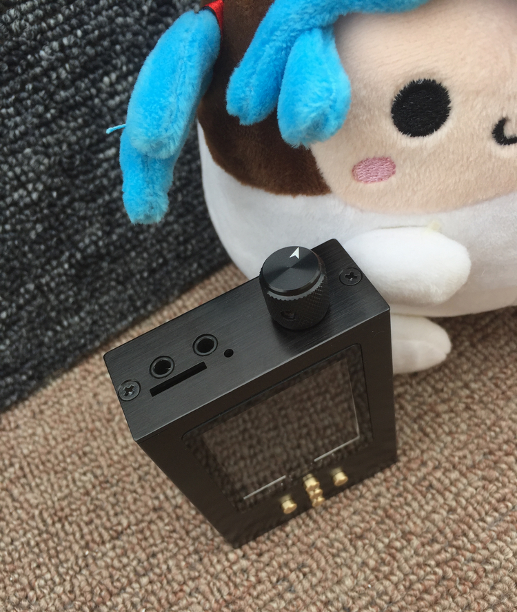 Wooeasy Zishan DIY 16G DSD Professional Lossless Music MP3 HIFI Fever Portable Lossless Music Player AK4495SEQ DSD Hard Solution