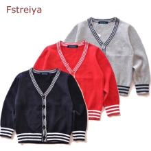 лучшая цена Baby boys christmas sweaters children clothing toddler girls knitted sweaters kids winter coat boy cotton cardigan girl clothes