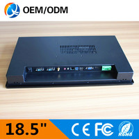 Free Shipping 18 5 Industrial Pc R232 18 5 Inch Embedded Touch Screen Industry QY 185C