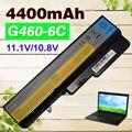 4400 mah 6 células bateria do portátil para lenovo ideapad b470 g565 G460 G460A G460L G560 V360 V370 V470 Z460 Z465 Z465A Z560