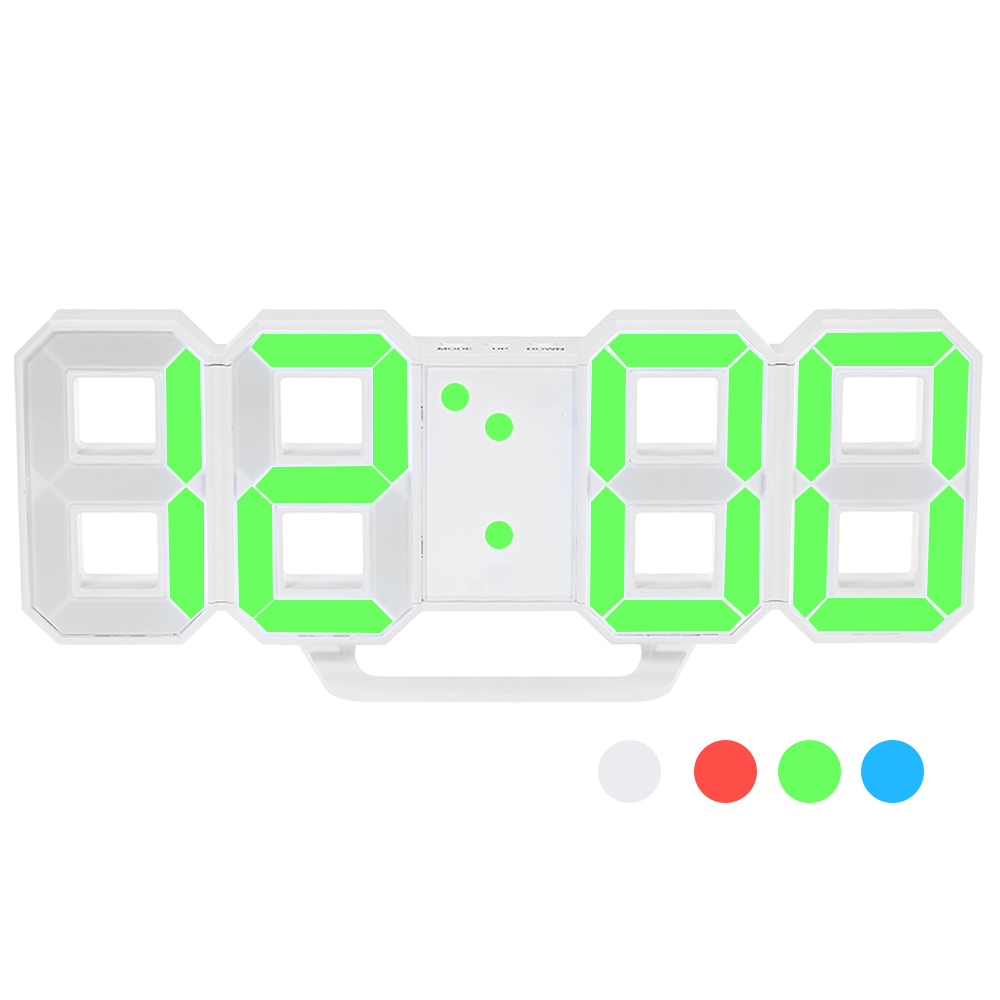 Multifunctional LED Digital Wall Clock 2