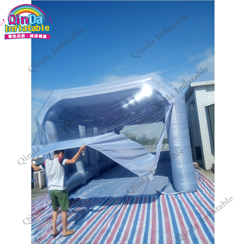 Top Supplier Hot Sale Inflatable Portable Car Spray Paint Booth Design With Filter used car paint booth for sale