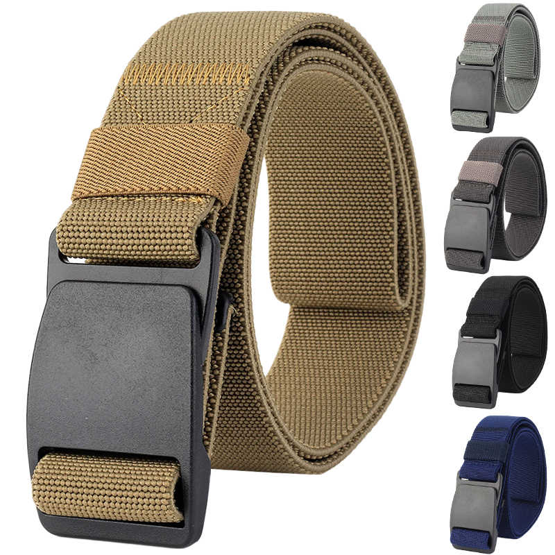 Tactical Belts Nylon Military Waist Belt with Metal Buckle Hypoallergenic Training Waist Belt Hunting Accessories P30