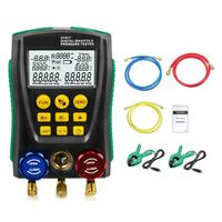 DY517 Pressure Gauge Refrigeration Digital Vacuum Pressure Manifold Temperature Tester dropshipping