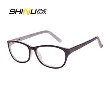 アンチブルーライト老眼鏡女性抗疲労視力眼鏡uv400保護アセテート眼鏡oculosデleitura ld016