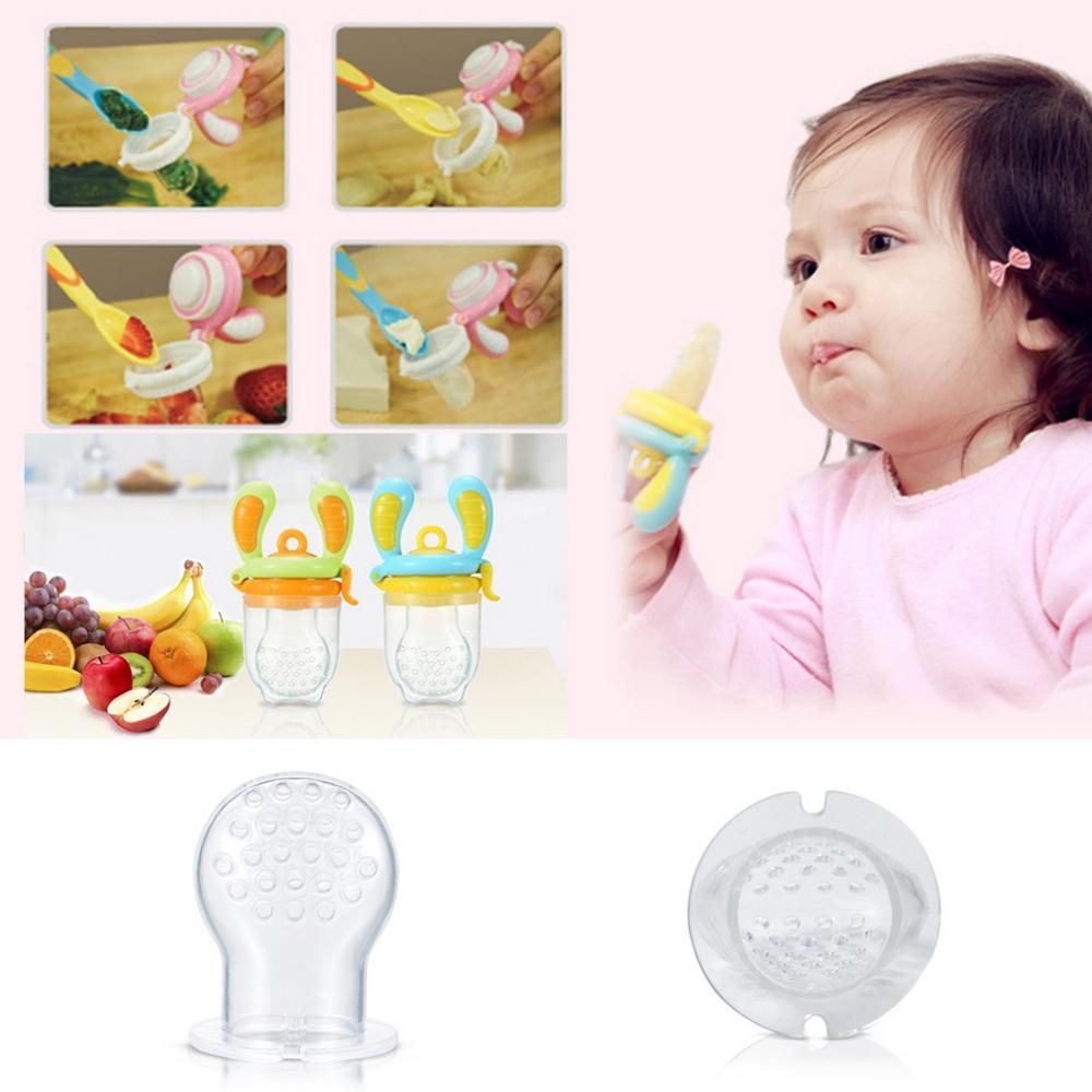 1 PC NEW Nipple Fresh Healthy Food Fruit Juice Milk Nibbler mamadeira Feeder Feeding Tool Safe Baby Bottles 3 Size