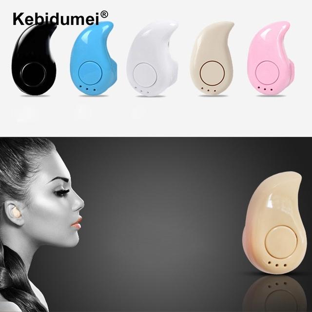 Kebidumei Mic Wireless S530 Mini Bluetooth Earphone Headset Handfree Earbud Stealth Sport Stereo For iPhone X 8 7 Xiaomi HUAWEI
