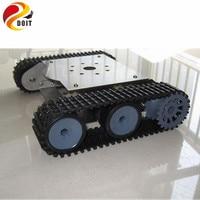 Tank Car Chassis Crawler Robot Smart Car Stainless Steel Body Tank Car For Development Robot Test
