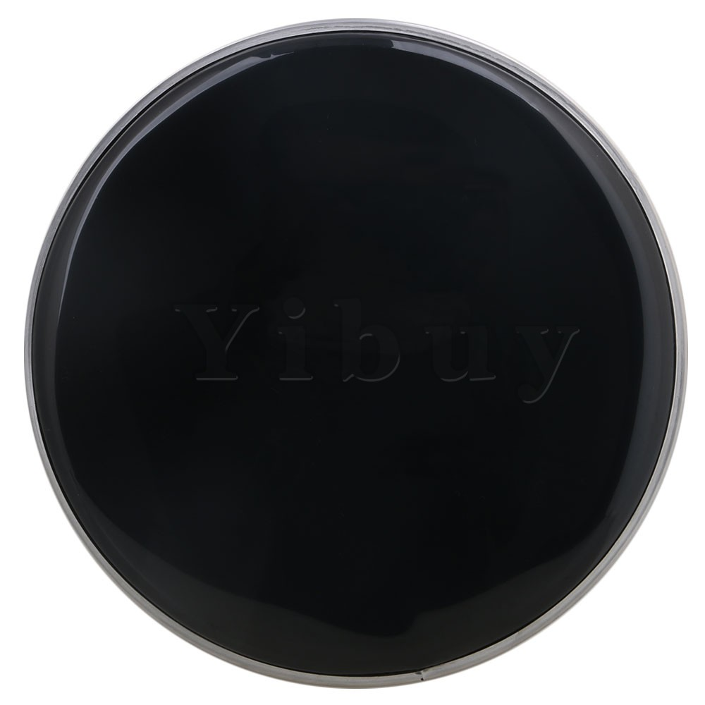yibuy 265mm diameter black polyester single ply drum heads drum skins percussion accessories for. Black Bedroom Furniture Sets. Home Design Ideas