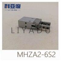 Тип SMC MHZA2 6S2 Малый параллельно открывать и закрывать (открытие и закрытие направлении через отверстие установки)