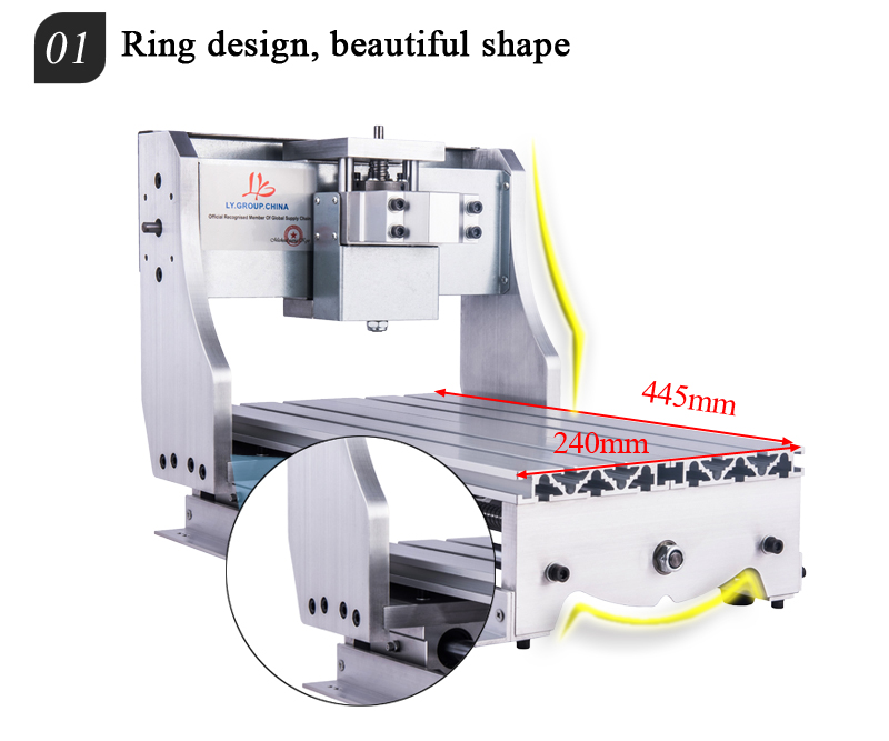 3020 CNC Frame 3axis (4)