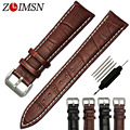 Sexy Men Women Genuine Leather Strap Business Watchbands Black Brown Watch Band Belt Watches Accessories Sport 20mm 24mm relogio