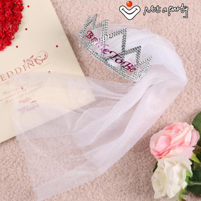 Evento di nozze velo da sposa 60% di sconto per 3 pz su tiara accessori 0795d14ae95f