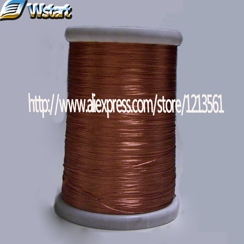 0 1x70 strands 50m pc Litz wire stranded enamelled copper wire braided multi strand wire