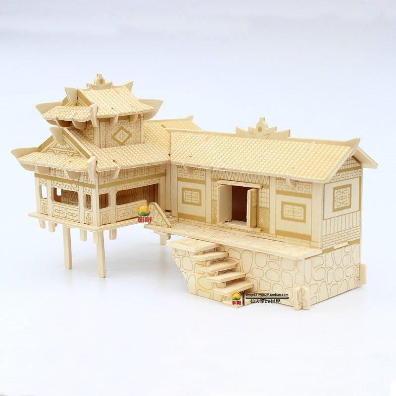 Model Of A Stilt House House Interior