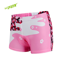 BATFOX Women Cycling Shorts Mountain Bike Bicycle Shorts Outdoor Sport Comfortable And Breathable Shockproof Cycling Underwear