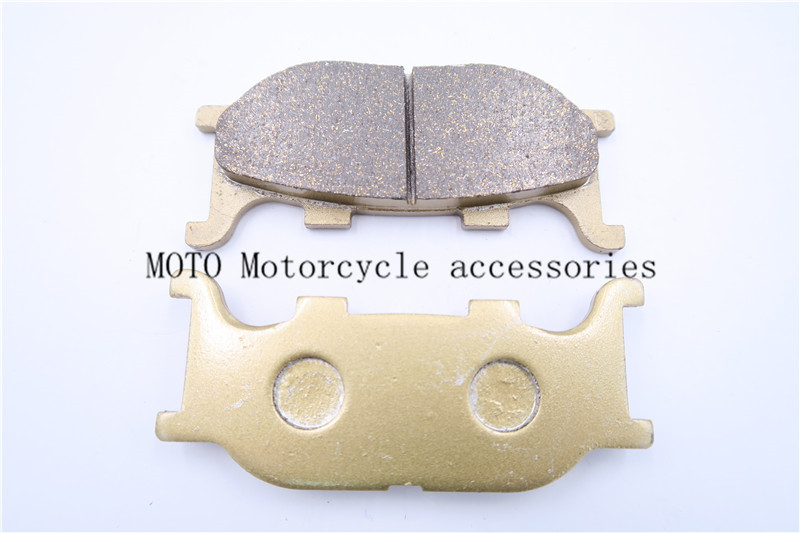 Front Brake Pads For XVS 1100 Dragstar 1999-2003 2004 XVS <font><b>1300</b></font> A Midnight Star 2007-13 TDR 125 (4GW/GX <font><b>1</b></font>/<font><b>2</b></font>/3/4) 93-2002 2003 image
