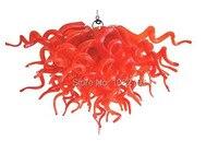 Бесплатная доставка воздуха 110/220 светодиодные лампы ремесленные муранского стекла лампа современный