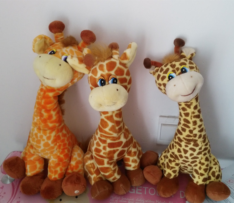 Russian language intelligent taking plush giraffe doll,electronic pet toys,Intellectual russian toy Christmas gift for children