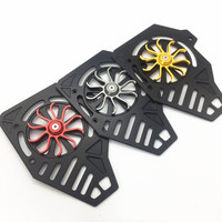 Modified Motorcycle CNC Aluminum pcx fan cover guard cover for honda pcx 150 125 2018 2019