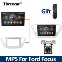 New MP5 2Din Car Radio Bluetooth For Ford Focus 2004 2011 Mirrorlink iPhone Android 9.0 Car Radio Multimedia Player No Android