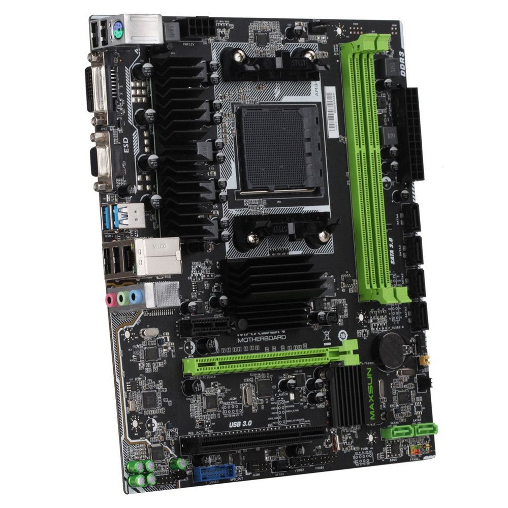 Cheap desktop computer - Maxsun Ms A970fx Turbo Computer Gaming Motherboard Desktop Mainboard Systemboard For Amd A970 Am3