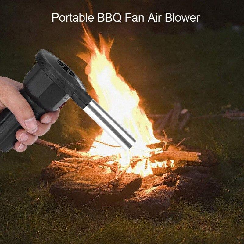 2019 1 Piece Portable Electric Bbq Fan Air Blower Burn