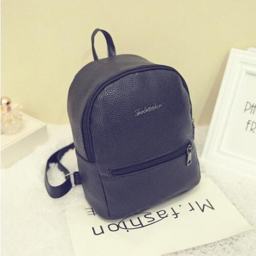Livraison gratuite FBrans tui mode sac à dos printemps couleur bonbon loisirs sac à dos, frais fille sac en cuir PU