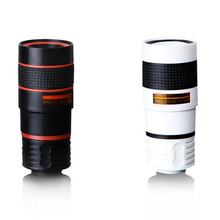 Mobile Phone Telescope Lens 8x Zoom Telephoto Lens With Clip Universal External Lenses For iPhone 6s 7 8 X Samsung S9 S8 Note8
