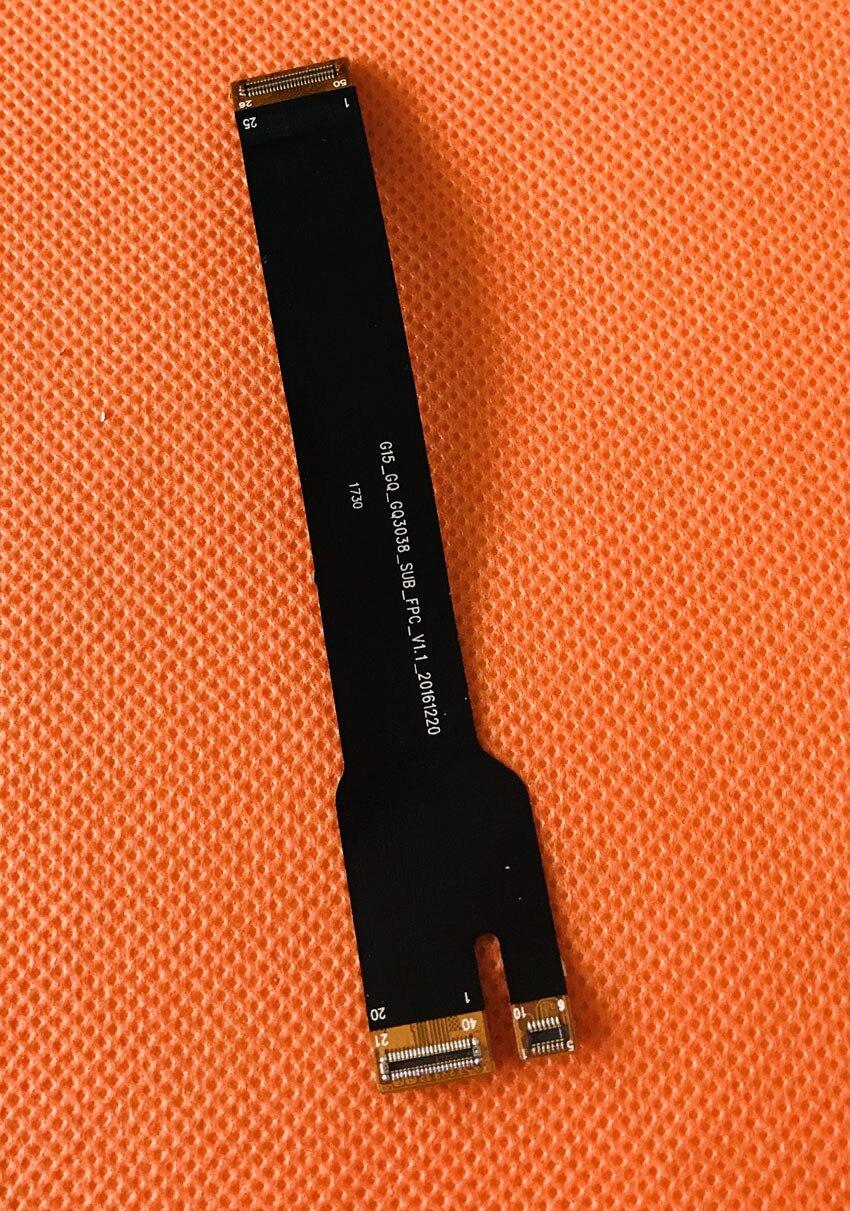 Utilisé D'origine USB Chargeur Conseil à la Carte Mère FPC pour Ulefone T1 Helio P25 Octa Core 5.5 pouce FHD Livraison gratuite