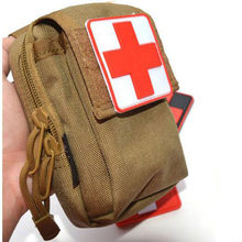 Outdoor Products PVC Stickers Armband The Medical Rescue Of The Red Cross Chapter Morale Military Stickers Badges(China)
