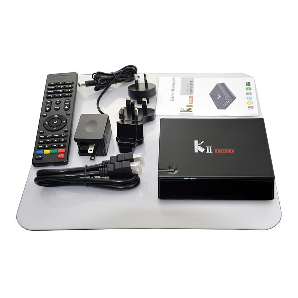 ФОТО Android 5.1 Original KII Pro DVB T2+S2 Amlogic S905 TV Box Quad-core BT4.0 2GB/16GB 2.4G/5G Wifi Smart Media Player