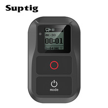 SupTig กันน้ำ WIFI รีโมทคอนโทรลสำหรับ GoPro HERO 8/7/6/5/4/3 Action กล้องสำหรับ Go Pro HERO 5/4 เซสชันกีฬา CAM อุปกรณ์เสริม