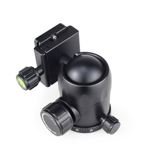Image 2 - INNOREL B44/B36/B32 Aluminum Alloy Panoramic Camera Tripod Head Max Load 15/12/8kg with Quick Release Plate for Telephoto Lens