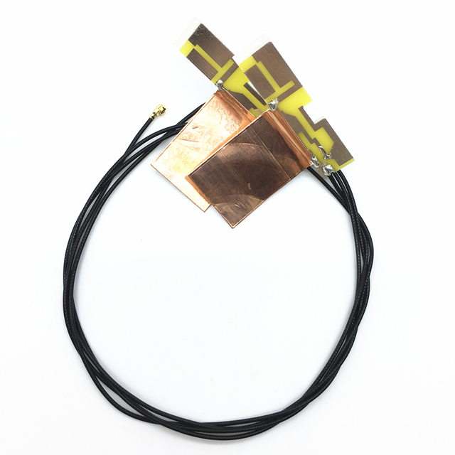New 2pcs Laptop internal U.FL antenna wire WIFI cable for MINI PCI-E wireless card Free Shipping Good Quality