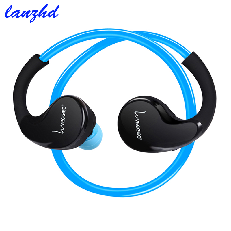 Bluetooth 4.1 Headset Headphones Wireless Headphone With Microphone AptX Sport Earphone for iPhone Android Phone wireless bluetooth earphone headphones s9 sport earpiece headset with tf card slot 8g auriculares with micro for iphone android