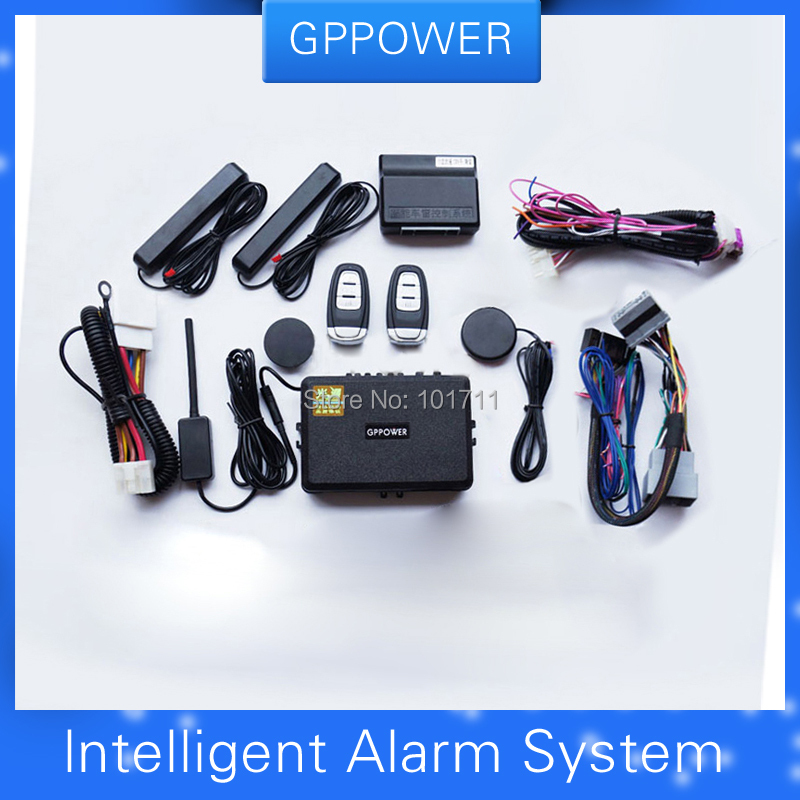 US $279 47 |Free shipping, RFID alarm system for Ford Focus, Car central  lock kit, Push button start engine, more safe& convenient -in Tire Pressure