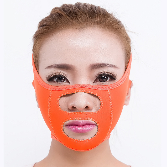 Firming wrinkle prevention law grains promote double chin potent thin face mask thin face artifact thin face tool health care body massage beauty thin face mask the treatment of masseter double chin mask slimming bandage cosmetic mask korea