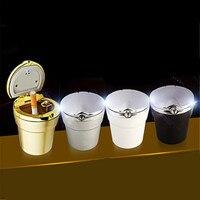 Car Styling Car Cigarette Ashtray With LED Lamp For Opel Zafira Astra VAUXHALL MOKKA Insignia Vectra