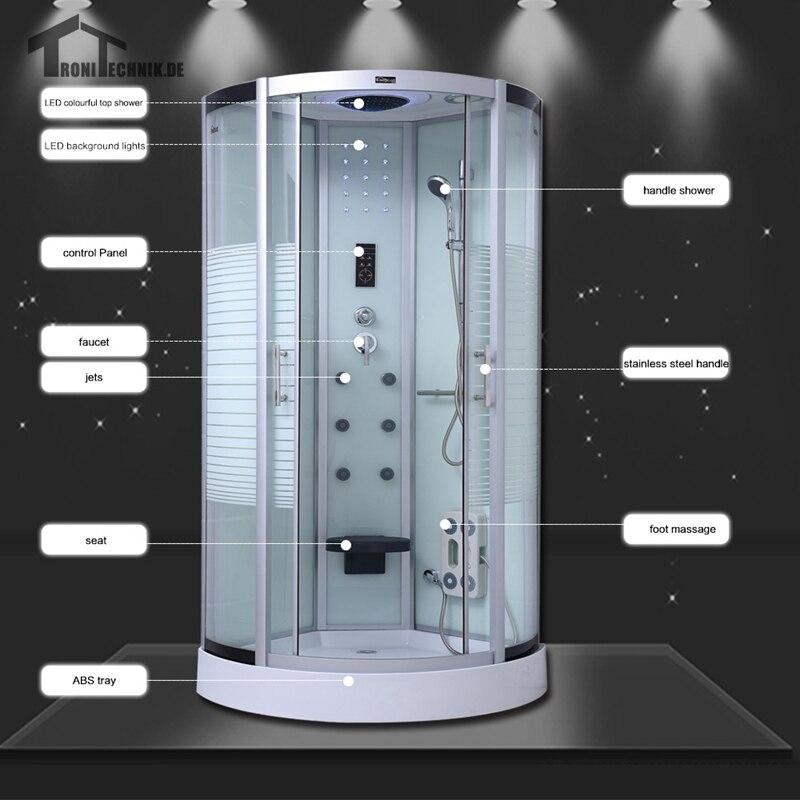 90cm NO Steam shower cabin bath douche cabine Shower Cubicle ...