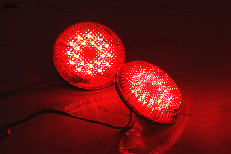 OKEEN Red Two Pcs High Efficiency Tail Parking For Nissan Qashqai Auto Lamp /Brake lights/ Parking/drl lamps Hot For Russian